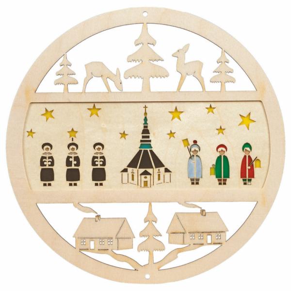 Fensterbank Kirche mit Kurrende