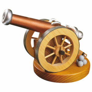 Historische Kanone für Räucherkerzen