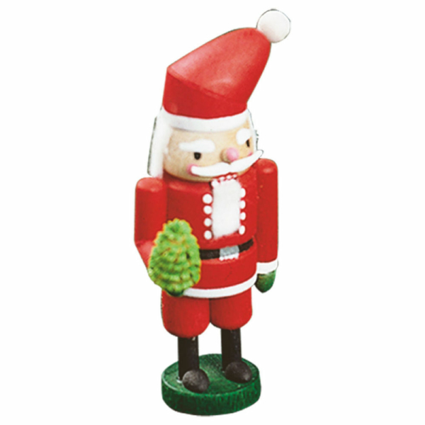 Mini-Nussknacker Weihnachtsmann