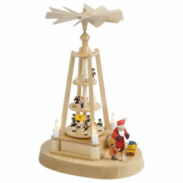 Minipyramide, Weihnachten und Weihnachtsmann