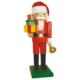 Nussknacker Weihnachtsmann mit Geschenken