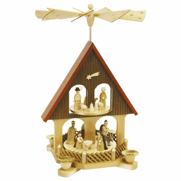 Pyramidenhaus Christi Geburt