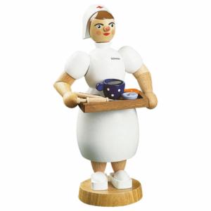 Räucherfrau Krankenschwester
