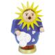 Räucherfrau Sonne