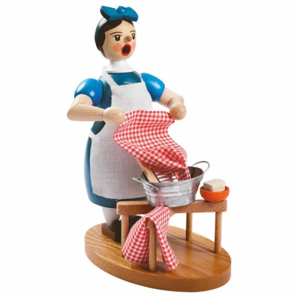 Räucherfrau Waschfrau