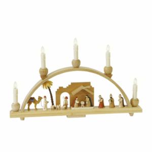 Schwibbogen Christi Geburt, elektr Beleuchtung_002-012-00971