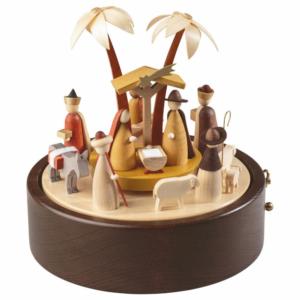 Spieldose Christi Geburt in Betlehem