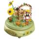 Spieldose Gartenidyll