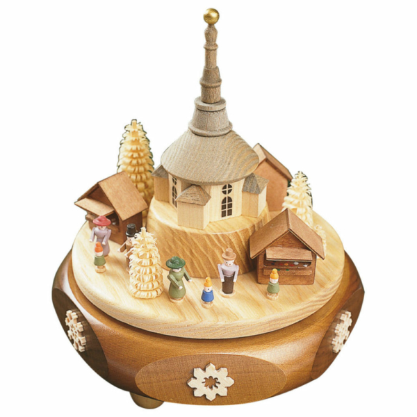 Spieldose Seiffener Weihnachtsmarkt