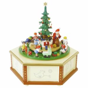 Spieldose Weihnachtsbescherung,