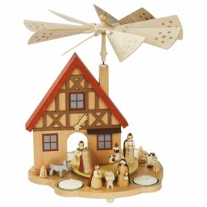 Tischpyramide Haus Geburt Christi