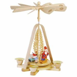 Weihnachtspyramide Bescherung_001-012-00816