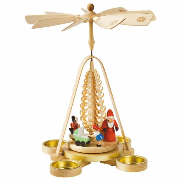 Weihnachtspyramide Weihnachtsbescherung
