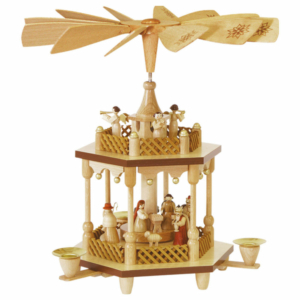 Weihnachtspyramide Christi Geburt 1-stöckig_001-012-00800