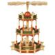 Weihnachtspyramide Christi Geburt 2-stöckig