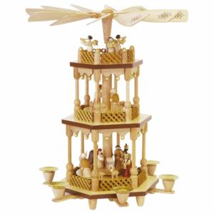 Weihnachtspyramide Christi Geburt